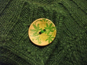 Painted button - 28th Noevmber 2010
