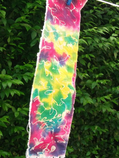 Batik fabric - July 2013