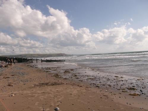 Borth beach; August 2013
