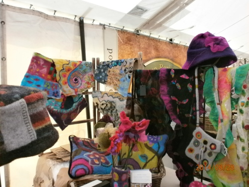 Craft tent ~ Monmouth Show 2014