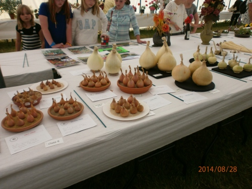 Produces tent ~ Monmouth Show 2014
